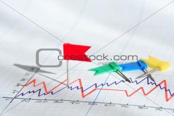 Flag Pin On Diagram