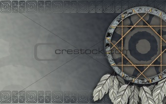 American dreamcatcher gray