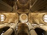 ceiling cupola indoors at Salamanca cathedral
