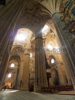 great indoors at Salamanca cathedral
