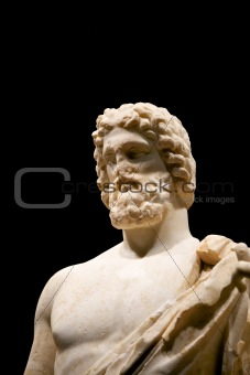 greek sculpture without nose