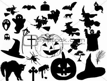 Image 4229363: halloween silhouettes