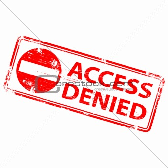 Access Denied Stamp