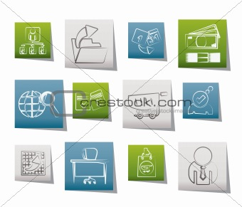 Business,  Management and office icons