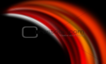 Red, orange and black background
