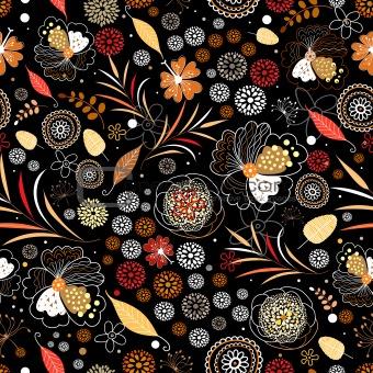 bright autumnal texture