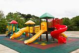 Colorful children&#39;s playground