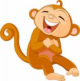 Laughing  monkey