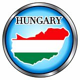 Hungary Round Button