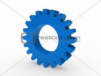 3d gear blue