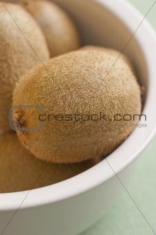 Kiwis in a bowl