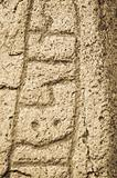 Close-up of ancient Rune Stone