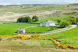 landscape at Armadale Bay, Highlands, Scotland