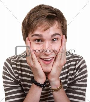 Thrilled Teen