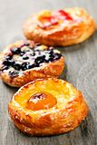 Fruit danishes