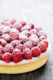 Raspberry tart