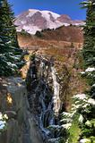 Myrtle falls at Mount Rainier