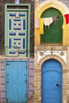 Beauty arabic door