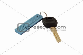 USB drive and key