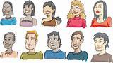 ethnic faces