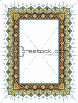 border islamic design