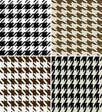 seamless houndstooth pattern