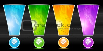 Vector website elements
