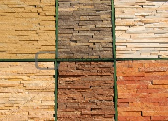 Stone texture wall
