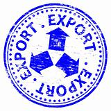 Export Rubber Stamp