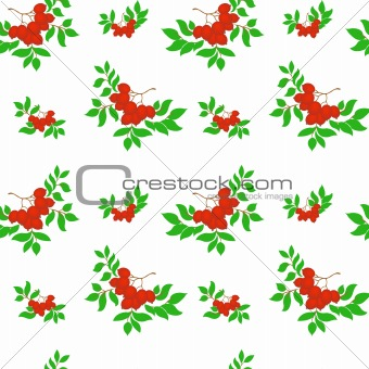 Ash seamless pattern
