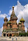 St Basil&#39;s Cathedral on Red Square in Moscow, Russia