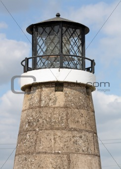 close up light house