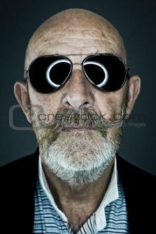 old man sunglasses