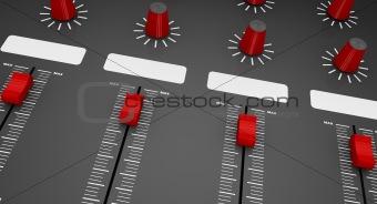 mixer sliders