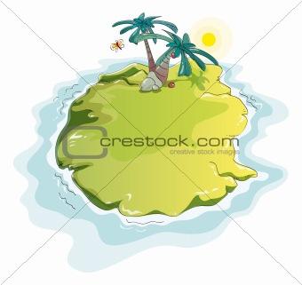 funny desert island