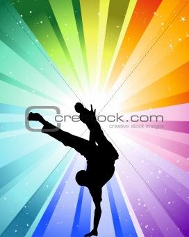 Brake dancer