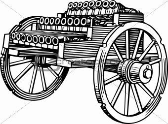 24 barrel cannon