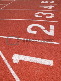 Athletics Track Lane