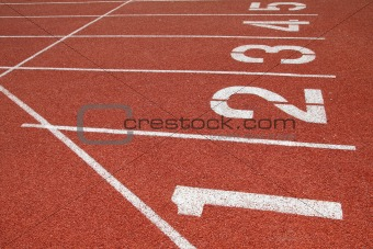 Athletics Track Lane