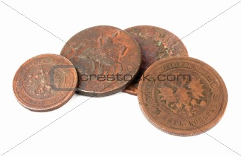 old russian coppers