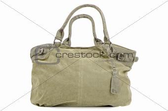 Green woman bag