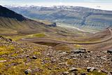 Mountain part of 917 route - Iceland.