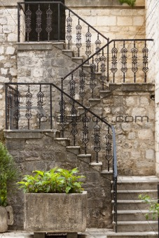 Beauty pattern stairs - Kotor Montenegro