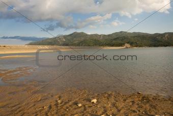 Slano lake in Montenegro, Niksic