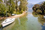 Montenegro. Sailing boat