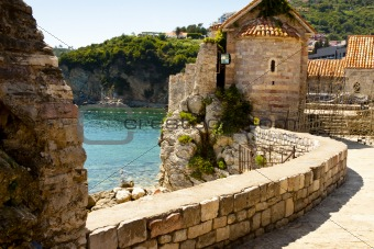 Fortification in Budva - Montenegro