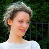 beautiful young woman outdoors portrait