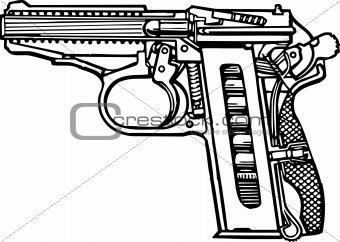 Pistol scheme