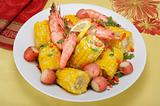 Shrimp and Corn.