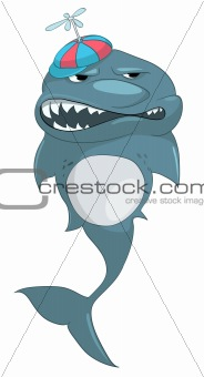 Cartoons_0076_Shark_Vector